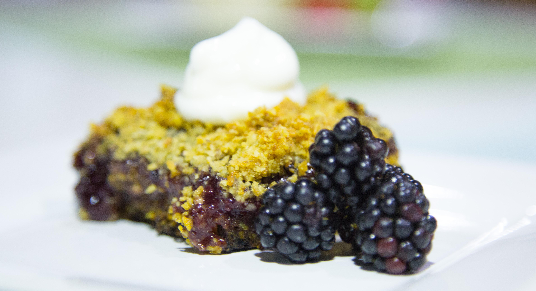Sugar Free Raspberry Walnut Bars (Unbelievable Recipe!)