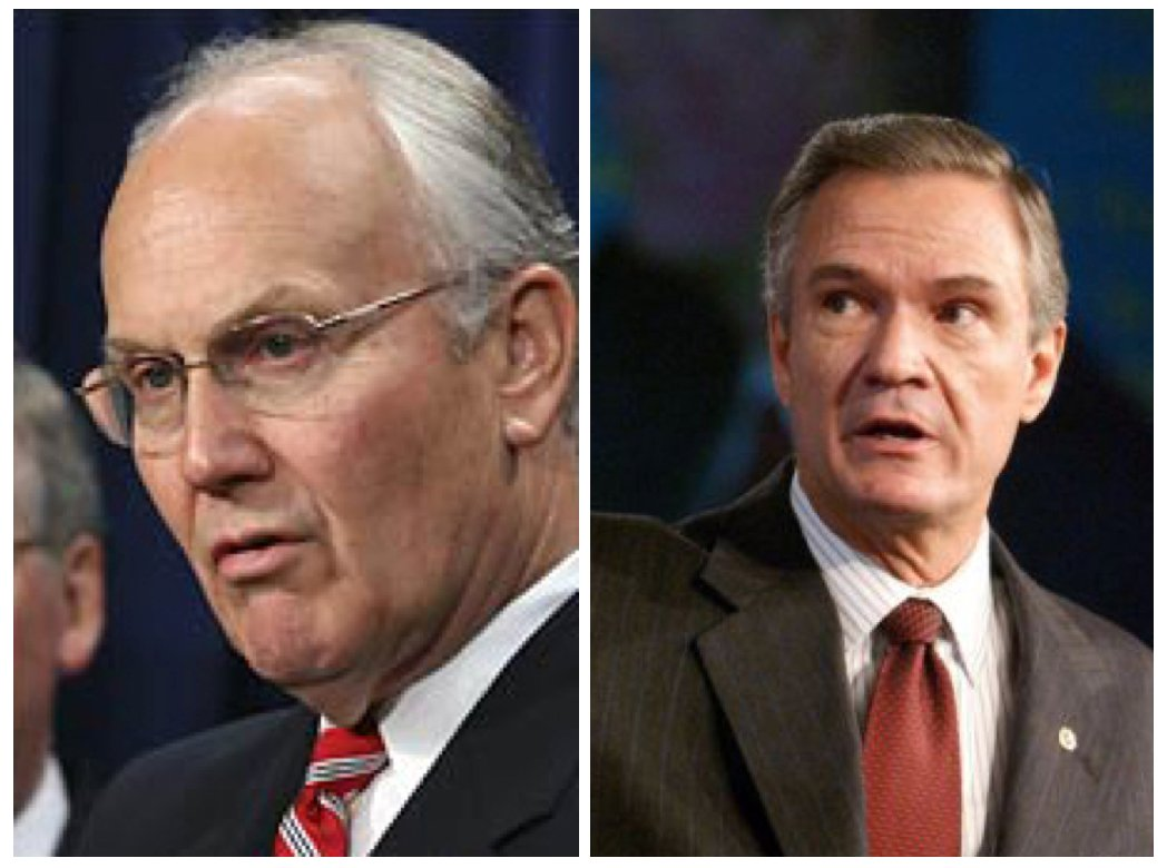 Senators Larry Craig and John Breaux