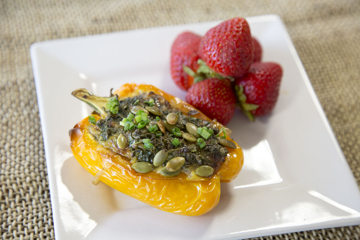 Easy, Healthy Brunch: Amazing Stuffed Peppers Recipe [Video]