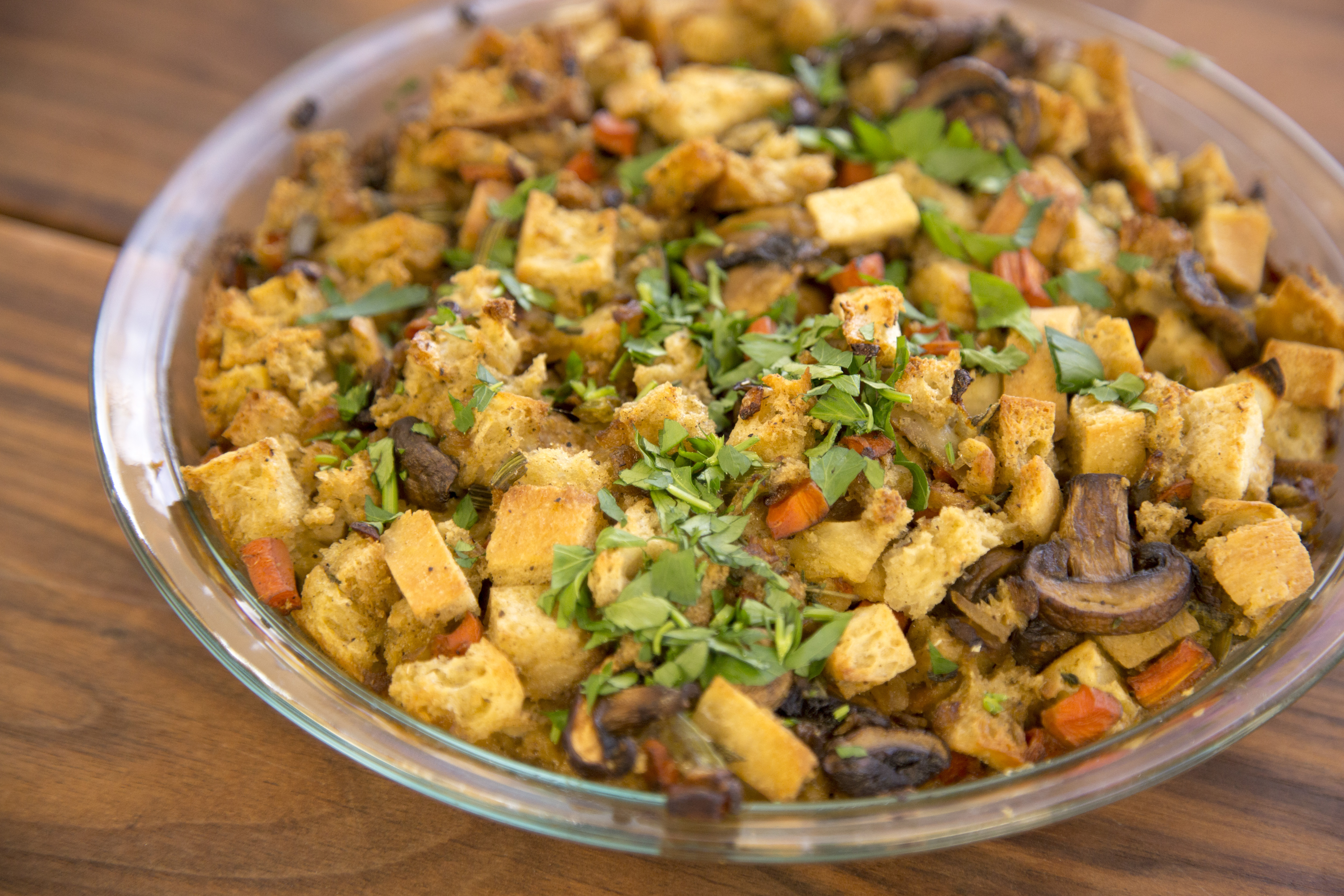 Healthy Stuffing Recipe You'll Love! (Cooking Demo Video)