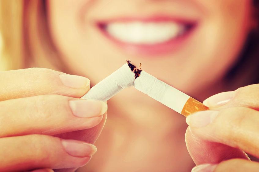 stop smoking bad breath