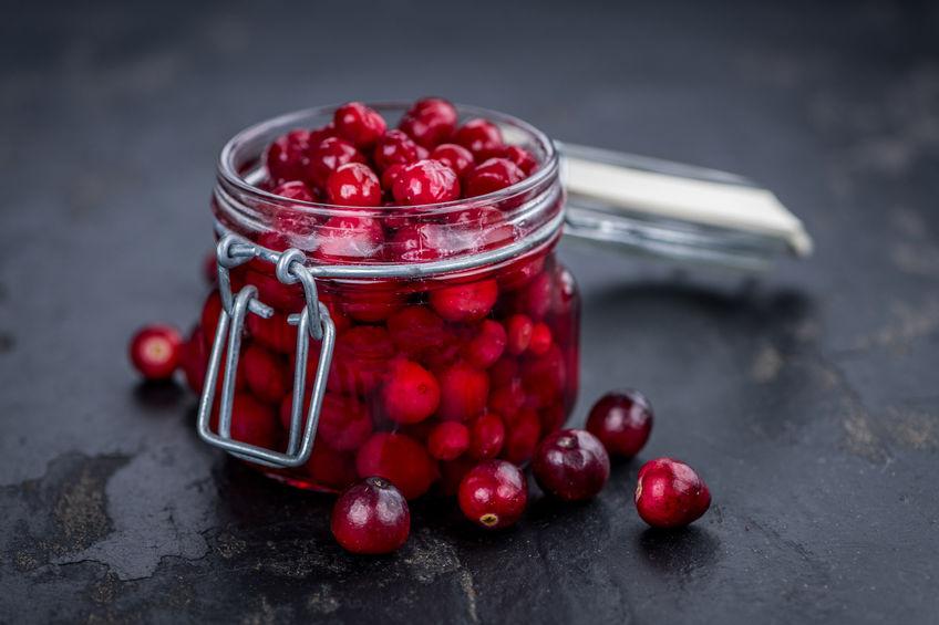 healthy cranberries