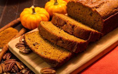 Eggless Pumpkin Bread: Vegan Recipes