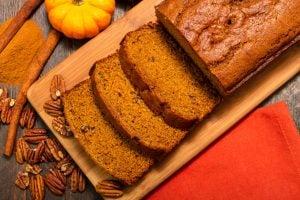 eggless pumpkin bread | Nucific