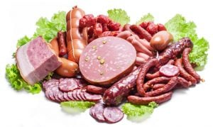highly processed meats