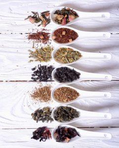 different tea types | Nucific