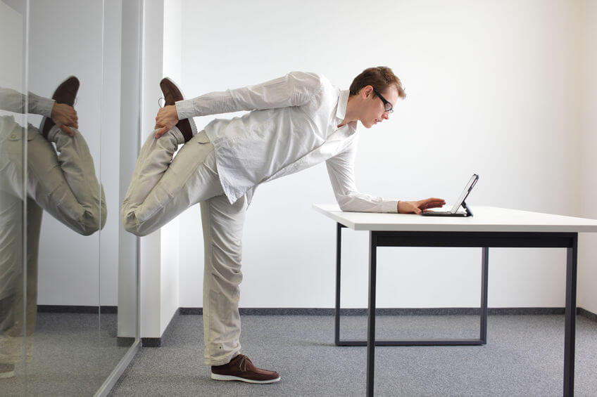 exercising at work | Nucific