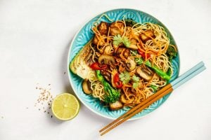 veggie stir-fry dish | Nucific