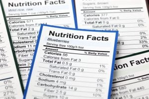 nutrition facts label | Nucific