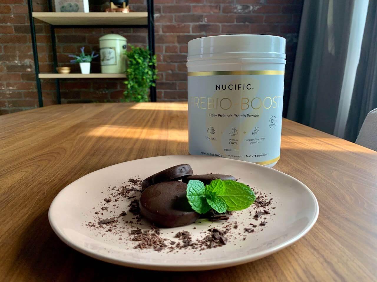 prebioboost skinny mint cookies | Nucific