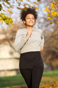woman running | Nucific