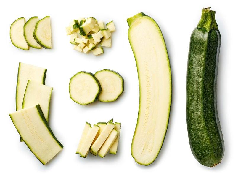 raw zucchinis   Nucific